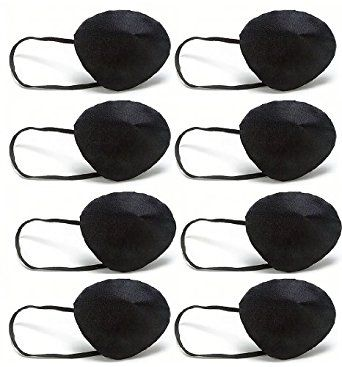 Amazon.com: Pirate Eye Patches Party Favors and Accessories Set of 8: Clothing