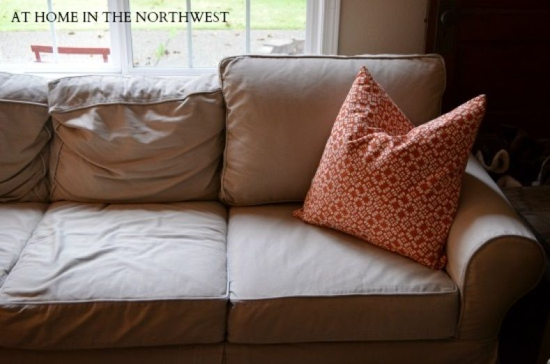 Restuffing Couch Pillows