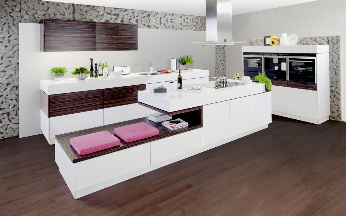 Moderne küchen küche modern pur 2062akzent 2070 küche planen mit almaküchen