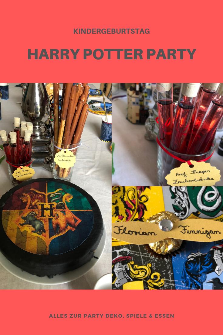 Harry Potter Party Zum 9 Geburtstag Bloggermumof3boys Mamablog Kindergeburtstag Party Zauberstabe Basteln