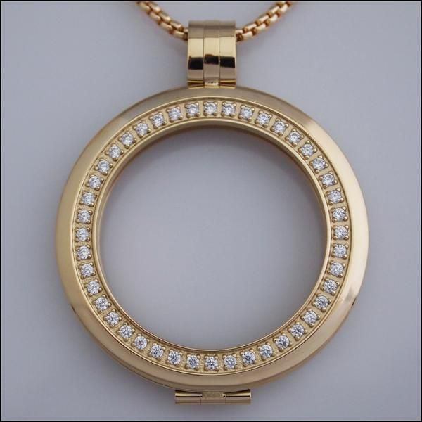Smooth surround crystal coin holder pendant gold hsj pinterest smooth surround crystal coin holder pendant gold aloadofball Images