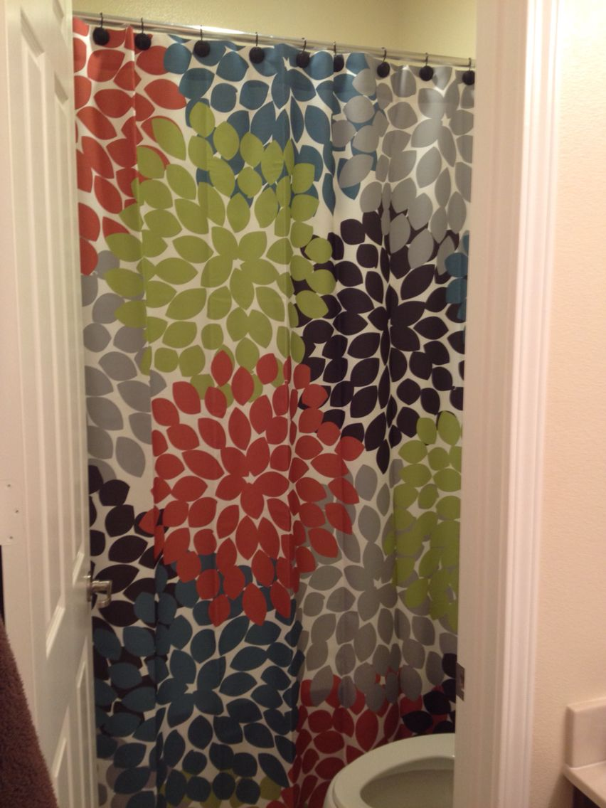 A Swirled Peas Shower Curtain Brings Top Quality Unique Style To Your Bathroom