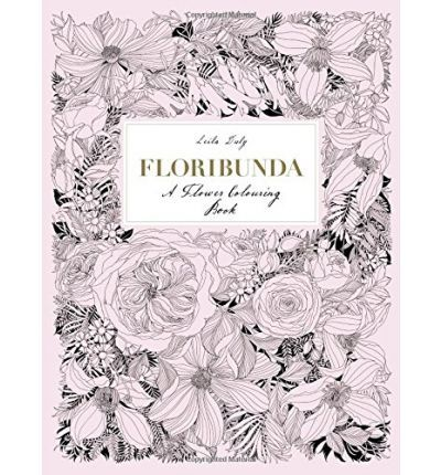 Colouring Book Reviews With Prue Totally Stunning Floribunda