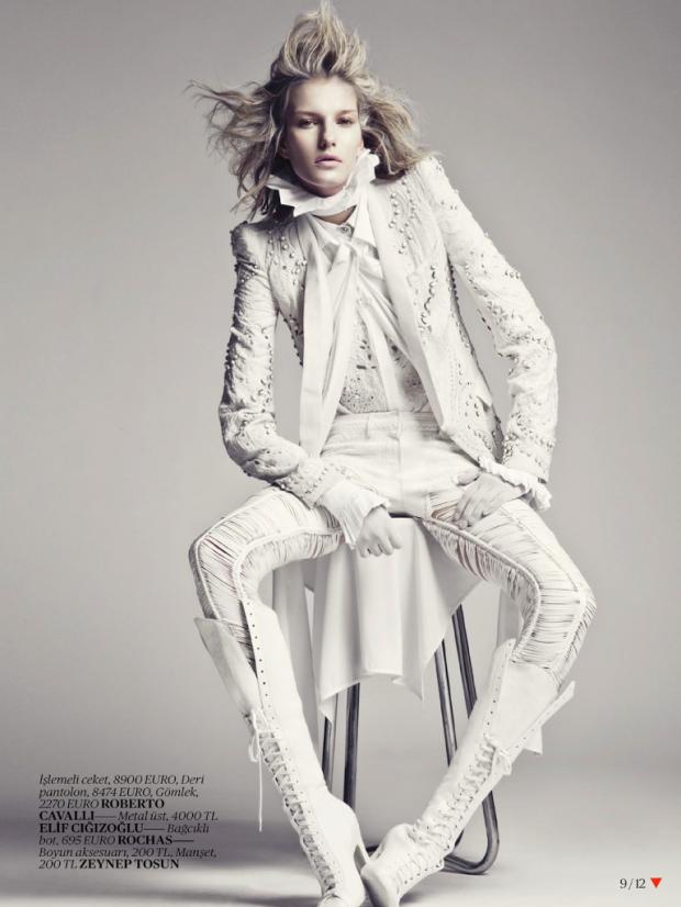 FACTORY PR — White Fashion Editorial - Vogue Turkey