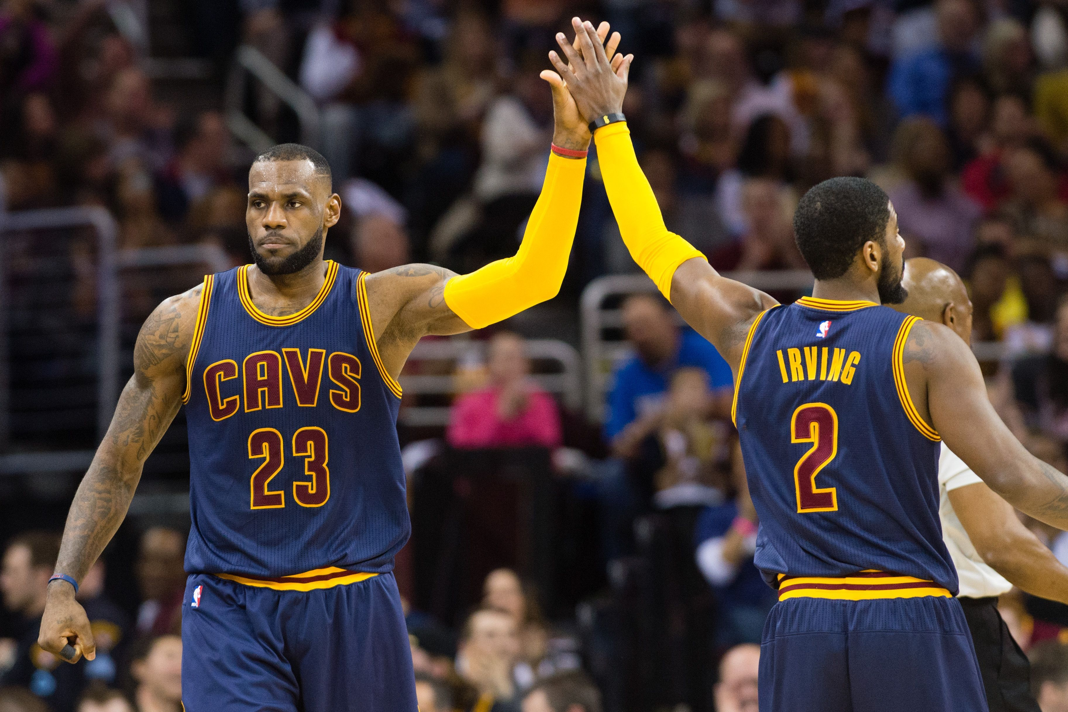 King James and Kyrie Irving were something special today