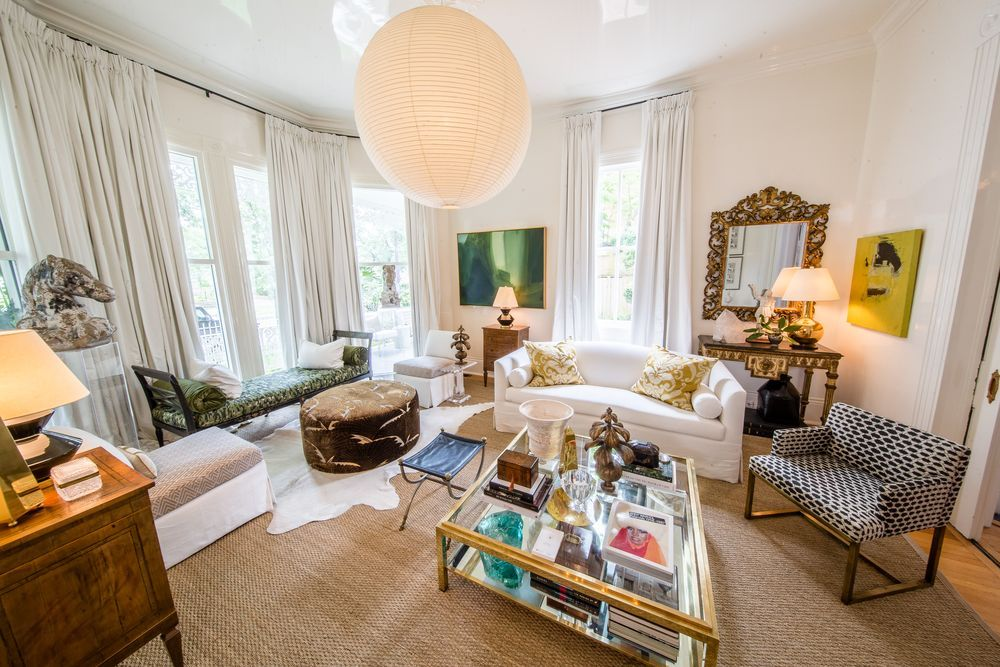 New Orleans Shaun Smith designed the Living Room