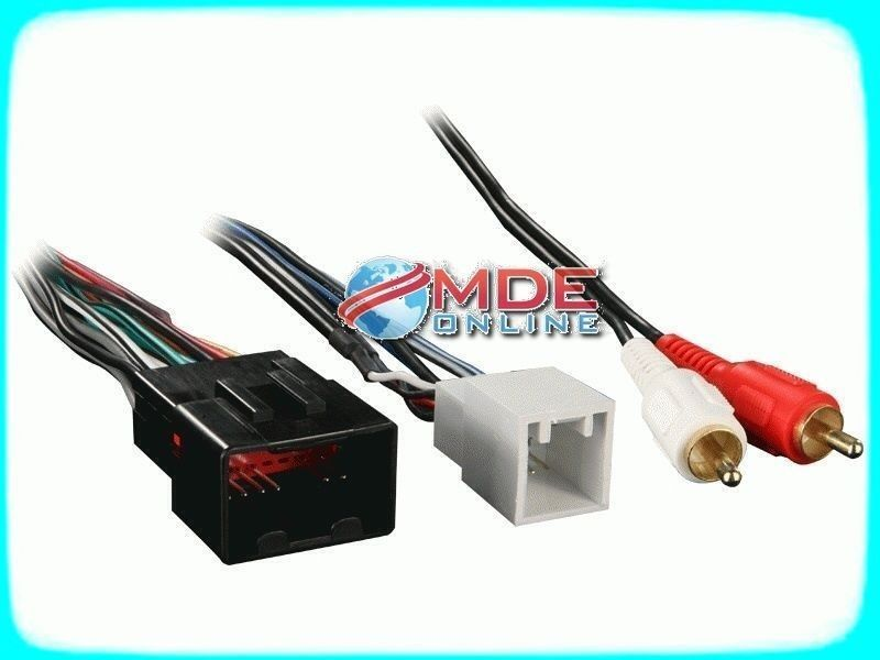 wire harness scosche fdk13b wiring source u2022 rh phuhuong net Scosche Line Out Converter Installation Scosche GM 2000 Wiring