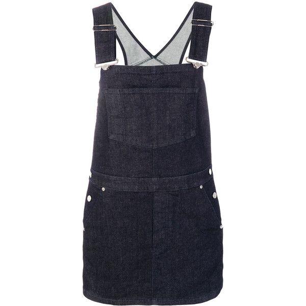 denim dungaree dress - Blue Givenchy Sc3i7Grj