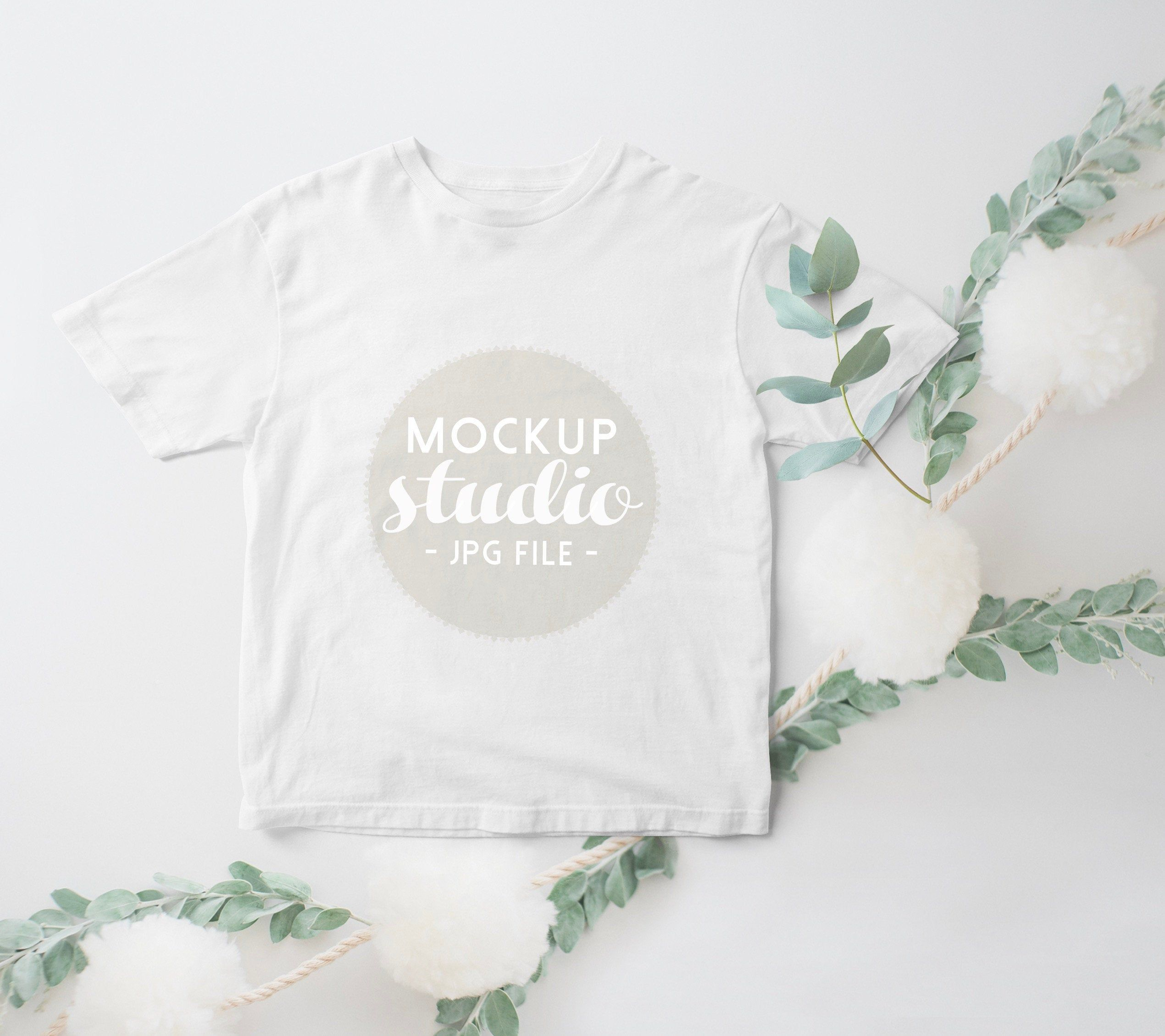 Download T Shirt Mockup Kids Baby Mockup Delicate White Tee Mockup Etsy Clothing Mockup Frame Mockup Free White Tees