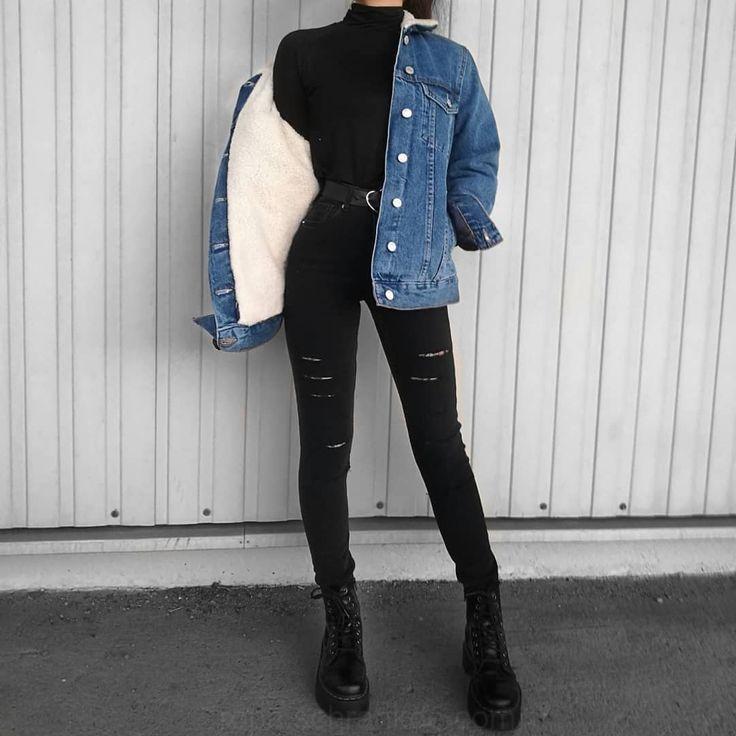 auf Instagram: Wie Traje magst du mit dieser Jeansjacke? вY: Fab #diseño #... - Amelie C. - #amelie #dieser #instagram #jeansjacke #magst #traje - #new #fab