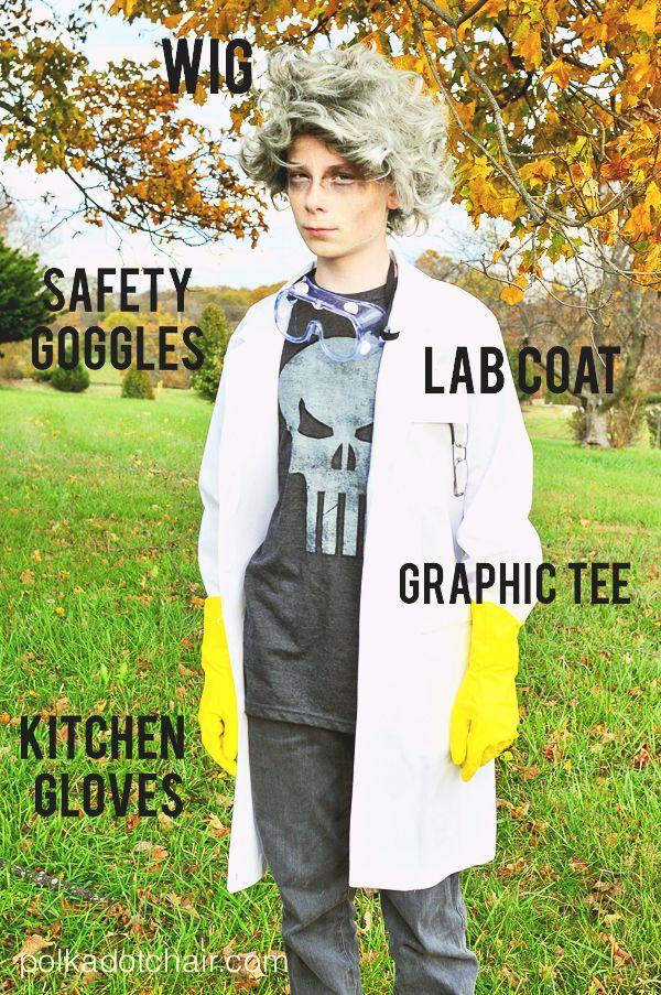 Mad Scientist Costume Mad scientist halloween costume