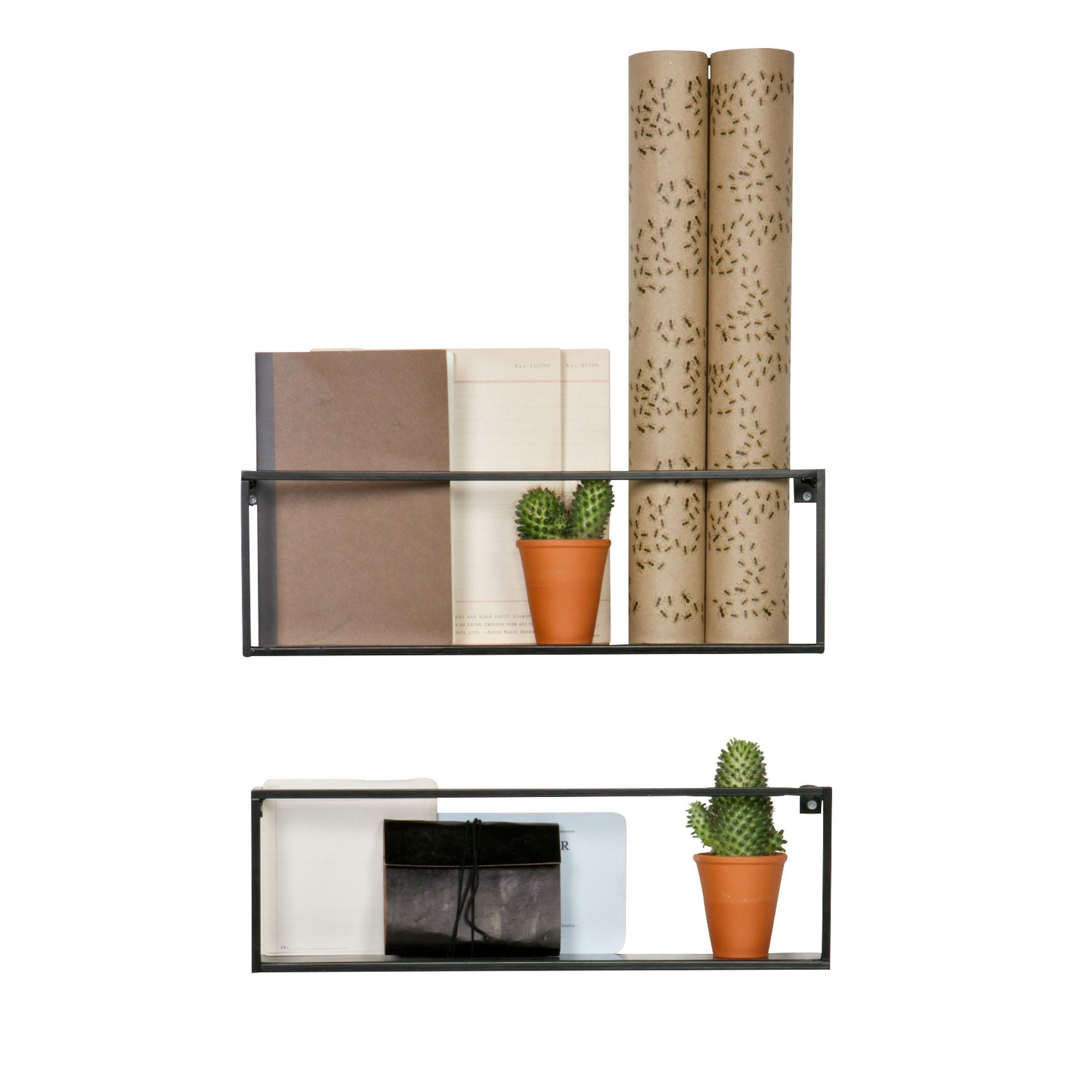 Wandrek Planten Zwarte Metalen Wandrek Meert Van Woood Decoratie Kitchen Wall