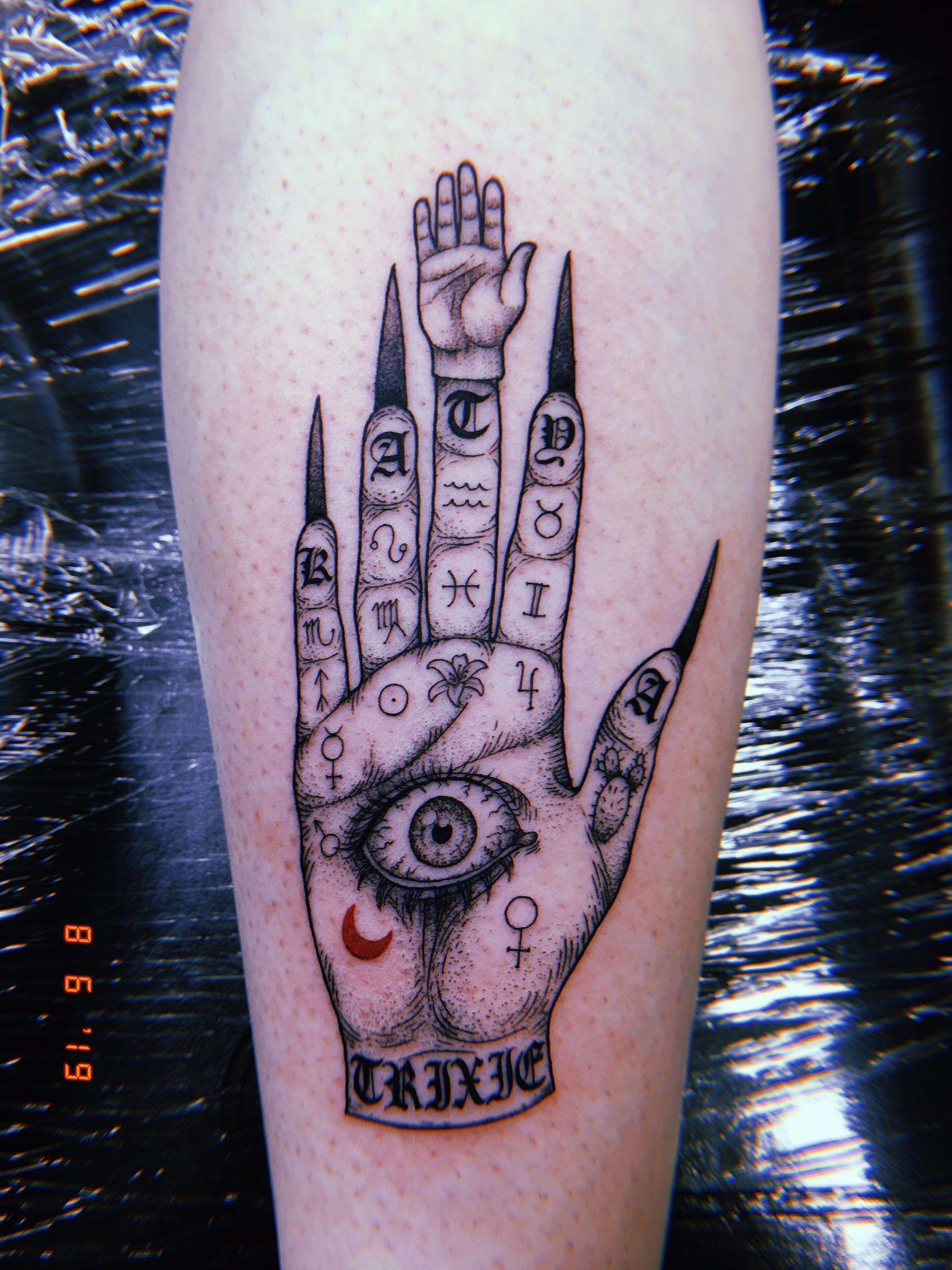 megan on Twitter: unhhhh ep. 666 - tattoos…  in 2020