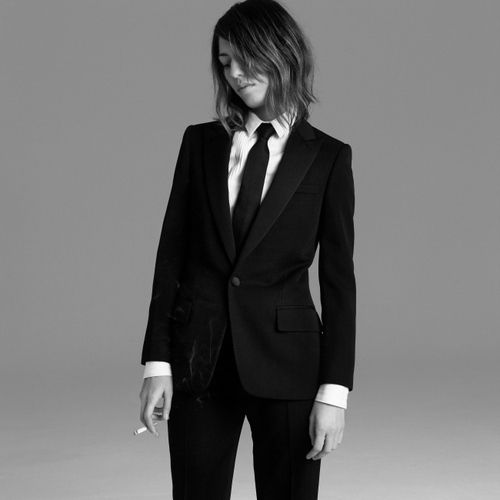 bashful-brunette:    Sofia Coppola…in a suit…smoking…*dies*    I don't know why but I just die for women in suits, especially with the tie. No idea where it comes from and truth be told I quite like men in suits as well but women looking like this make me weak at the knees.  Since I don't think it quite fits with my normal bloggery, I've created this new blog.
