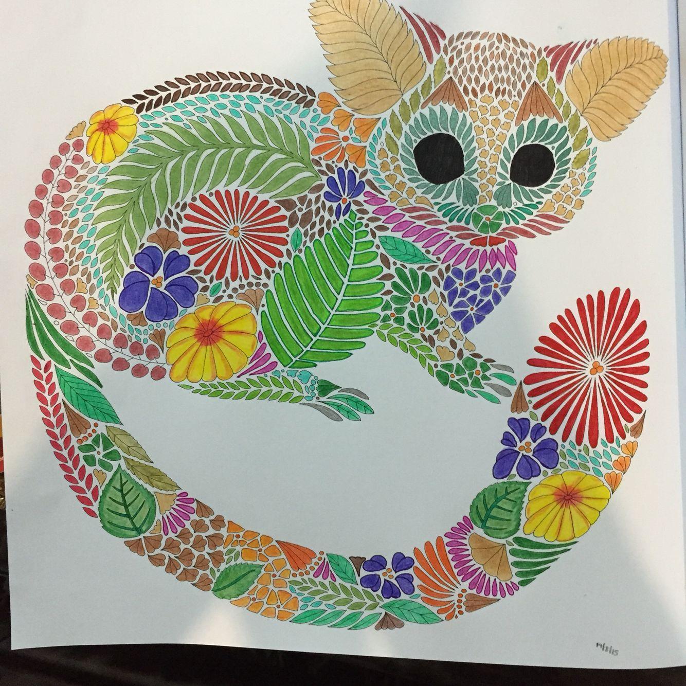 Millie Marottas Tropical Wonderland Lemur