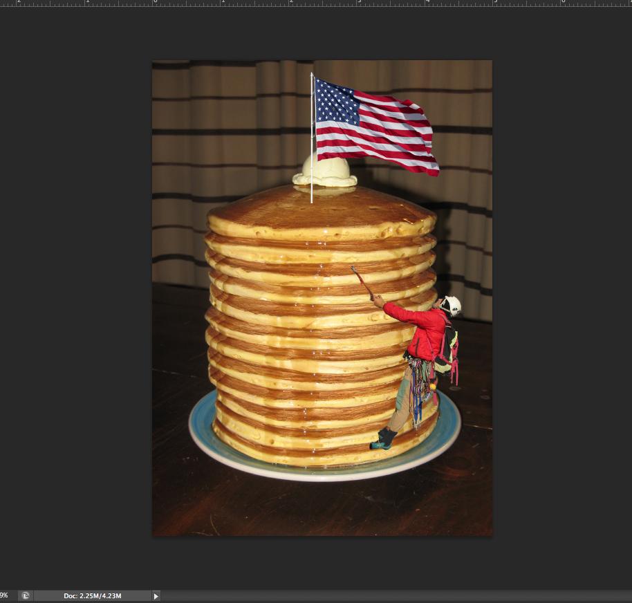 Pancake climber Pancakes, Desserts, Cake