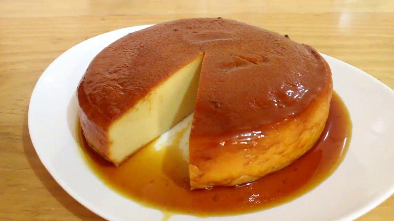 Flan De Coco Sin Horno Para Negocio Flan Dessert For Dinner Flan Cake