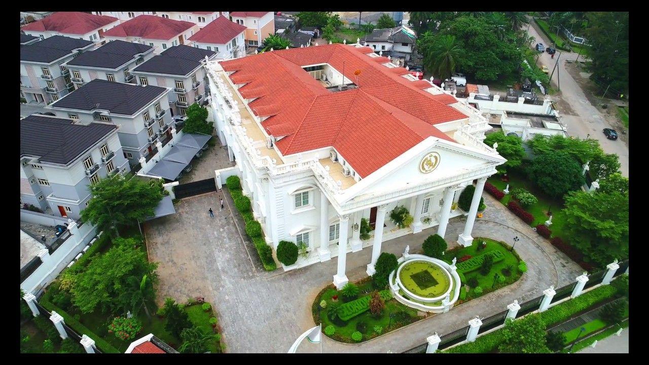 HOMES OF BILLIONAIRES IN LAGOS (FULL 4K!) Lagos, House