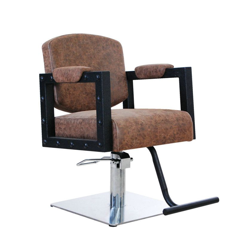 Awesome Retro Hydraulic Salon Chair Hair Styling Chairs With Interior Design Ideas Inesswwsoteloinfo