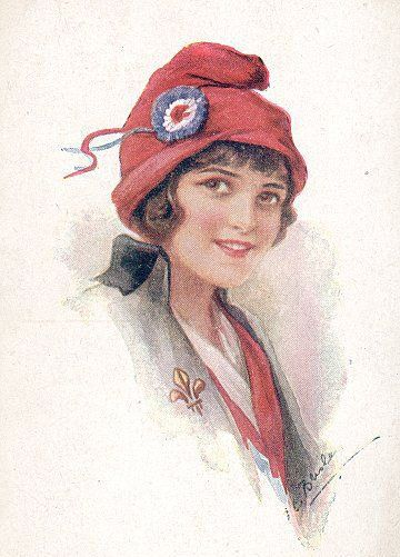 Bonnet Rouge The Red Cap Of Liberty Worn During The French