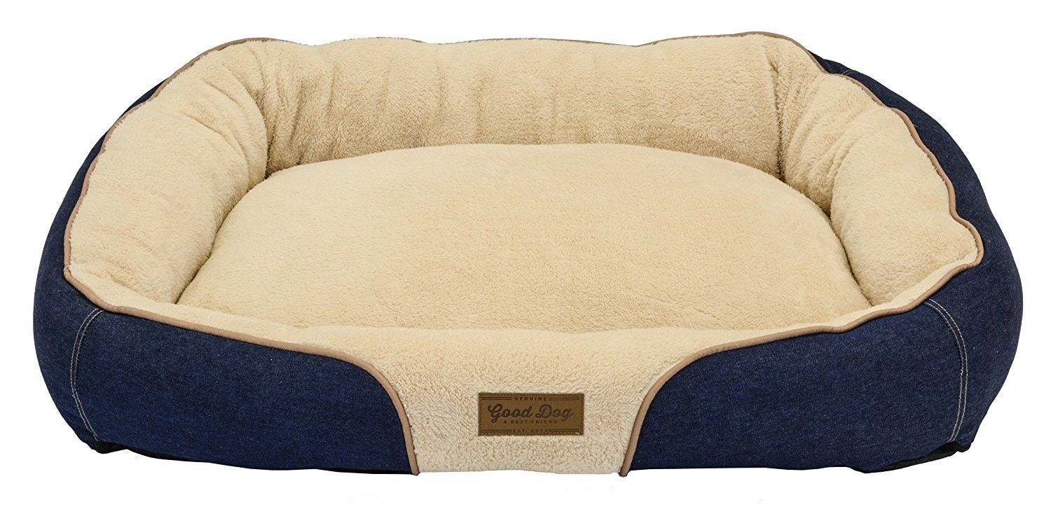 Dallas Manufacturing Co. 34'X25' Large Bolster Dog Bed