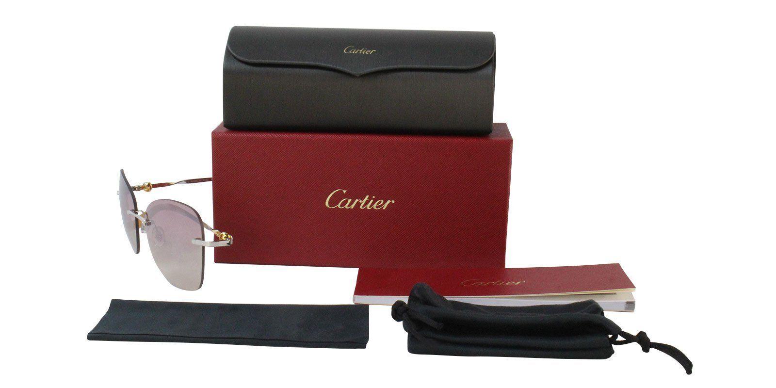 e8eeba8a423 Cartier - Trinity ESW00051 sunglasses