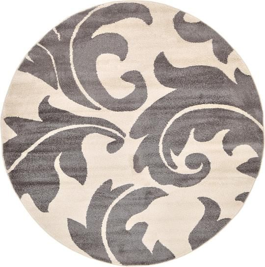 Entry Gray Frieze Area Rug