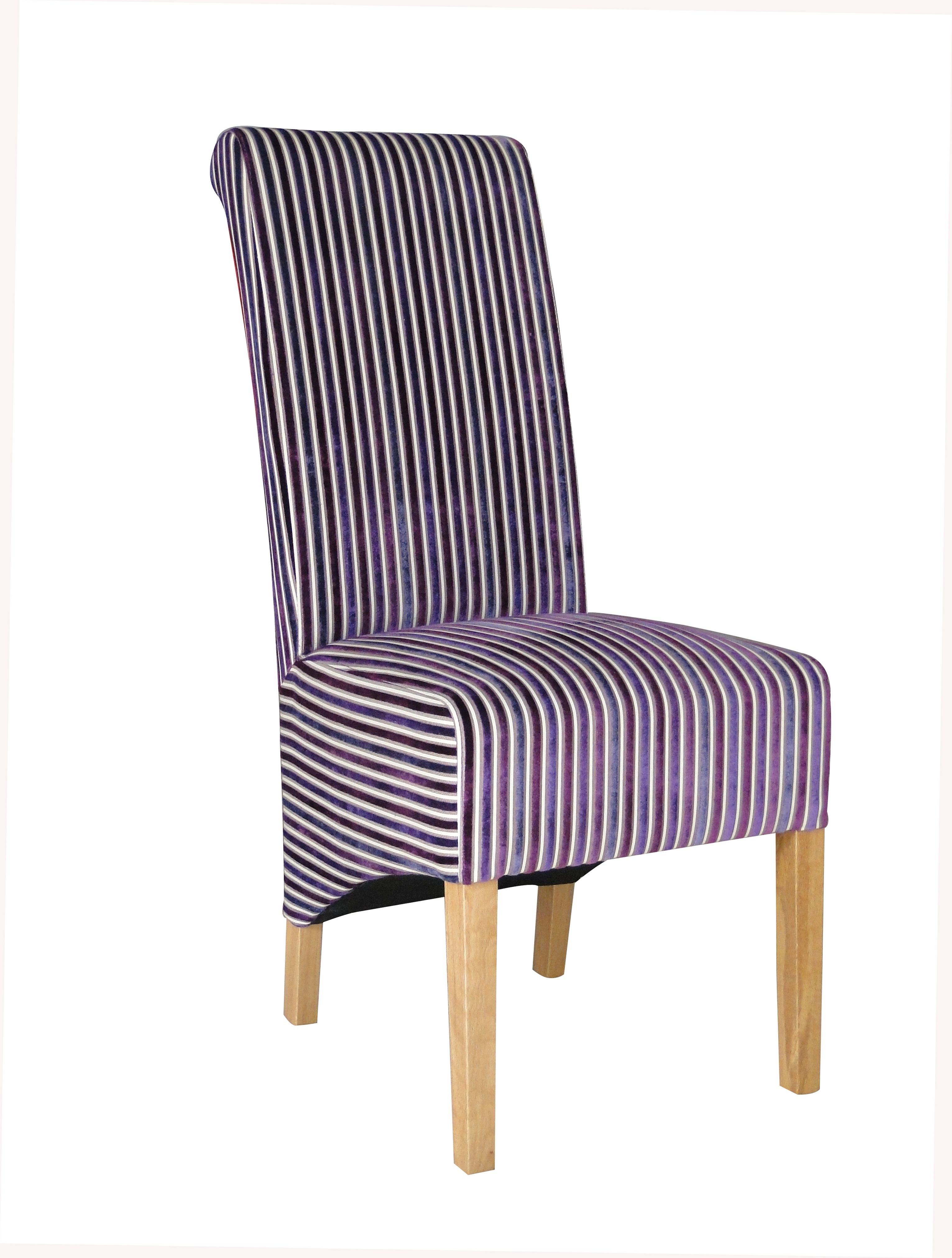 Purple Striped Dining Chairs Google Search