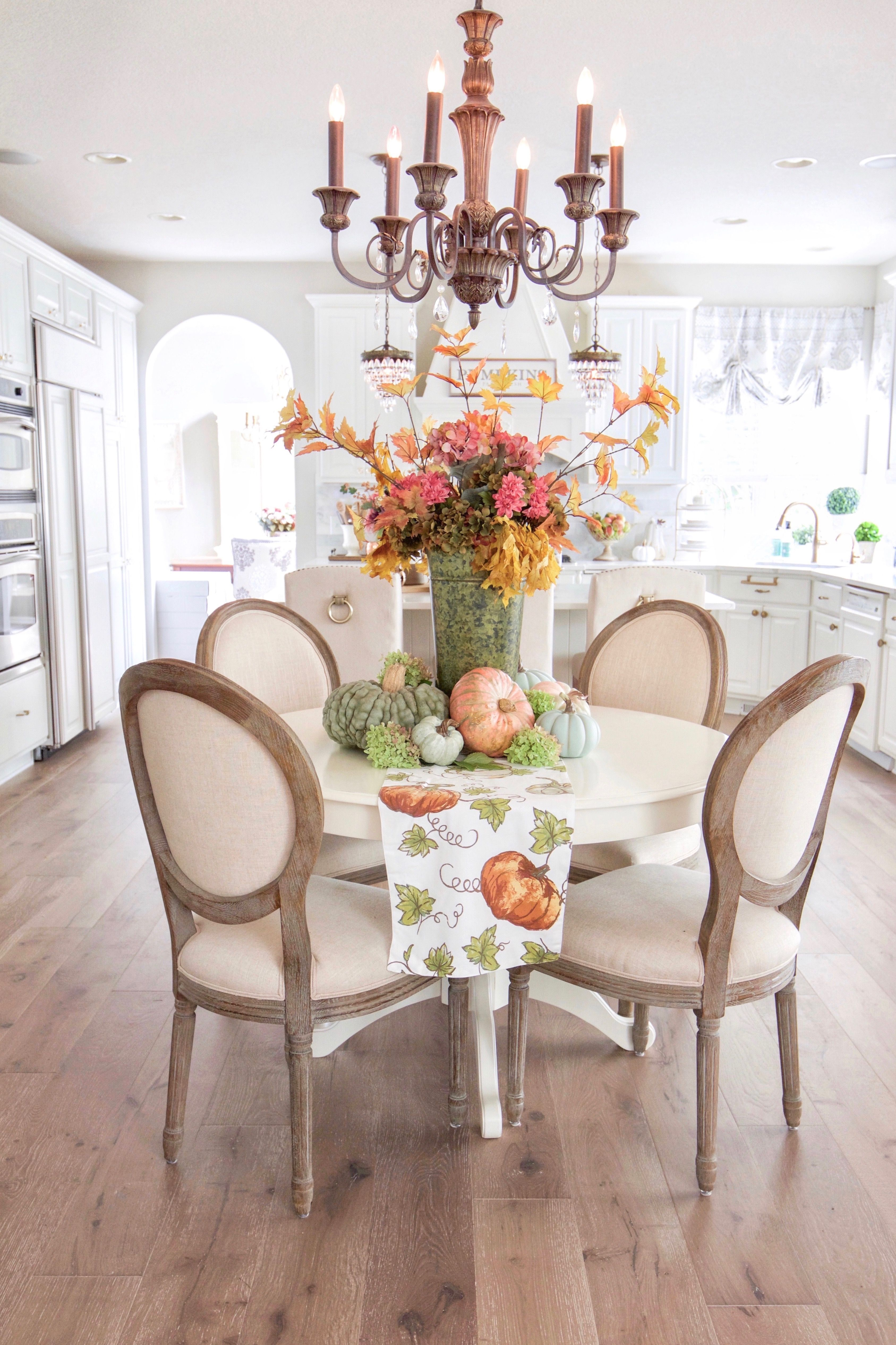 Fall Home Tour with Touches of Mauve and Copper  Fall and