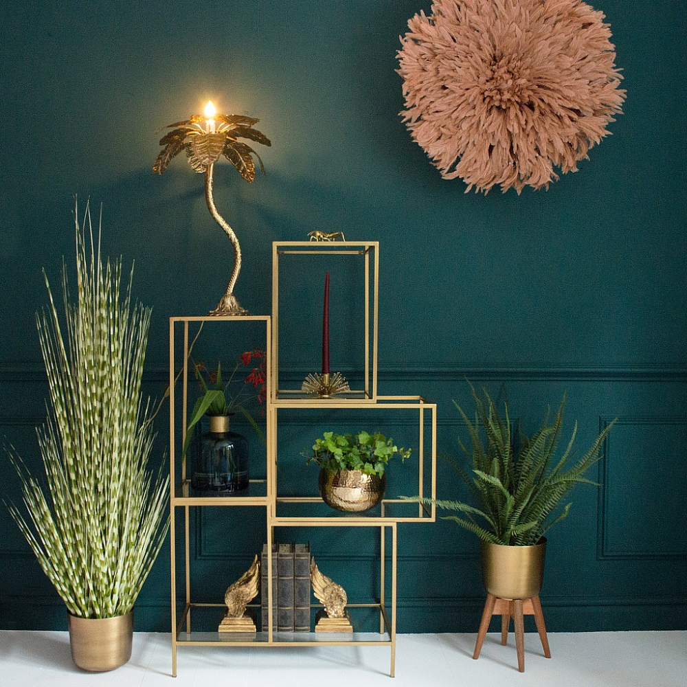 Color crush: groen met goud combineren in je interieur