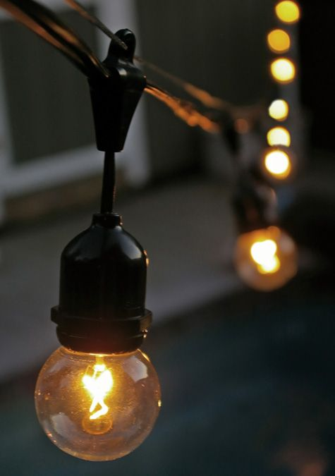 How to hang outdoor globe string lights novate pinterest how to hang outdoor globe string lights workwithnaturefo