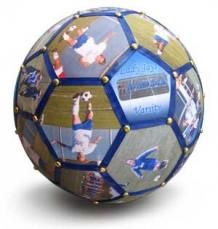 Soccer Photo Ball Personalized Soccer Gifts Blanketworxcom
