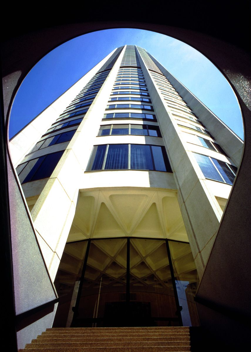 Harry Seidler Australia Square tower Architecture