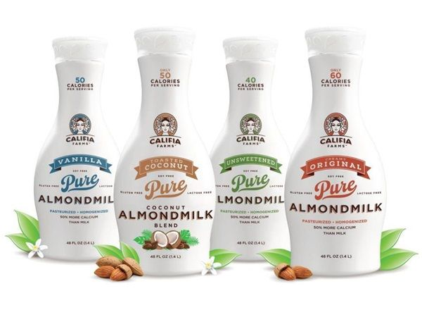 Califia Farms Pure Almondmilk - I want the Coconut blend!!!  Need to get my booty to Whole Foods!