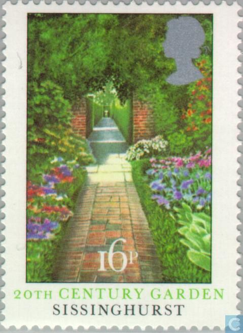 Postage Stamps - Great Britain [GBR] - Gardens
