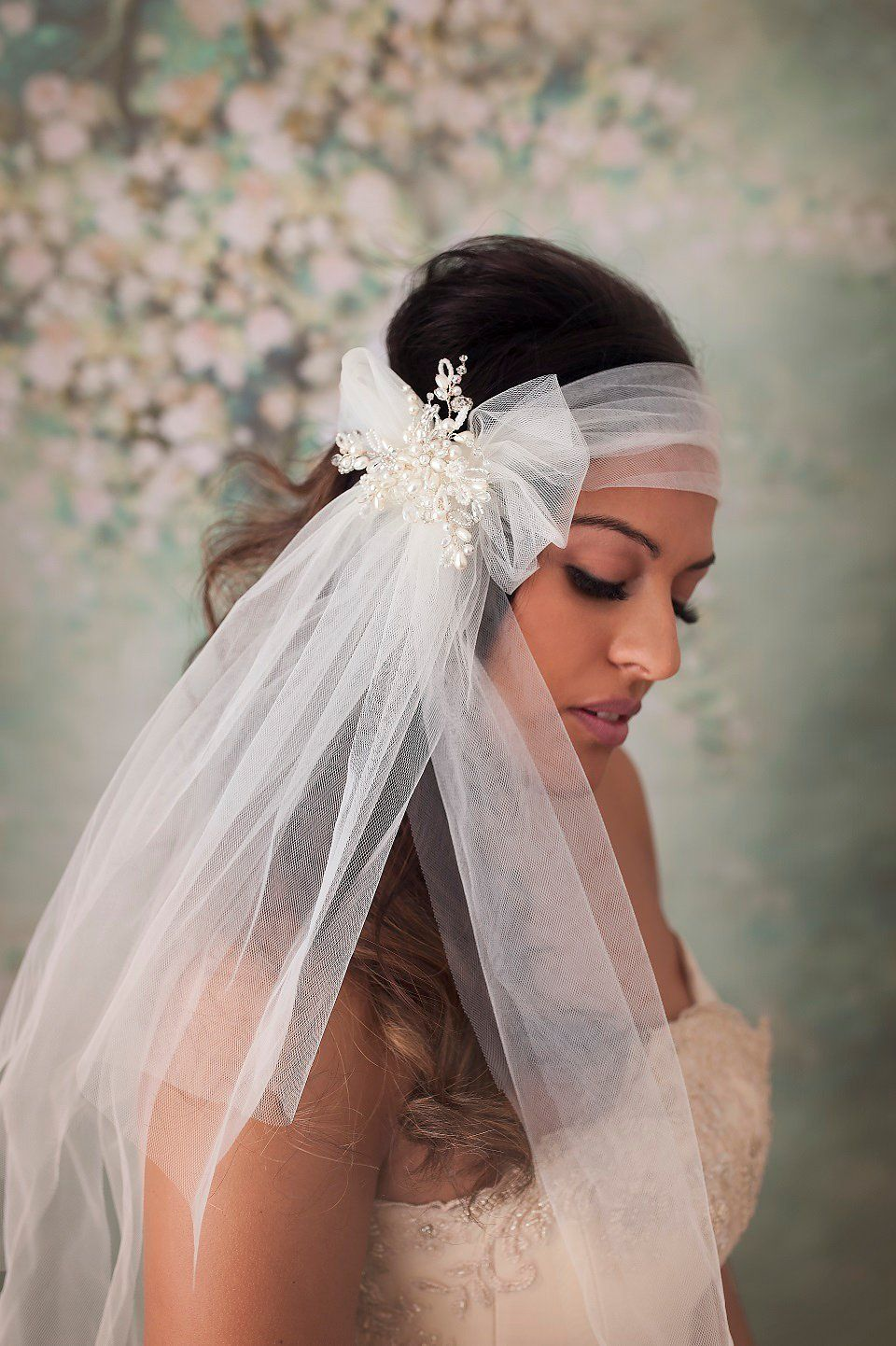 Mimosa Couture Bridal Accessories - Modern, Versatile & Romantic Wedding Headpieces