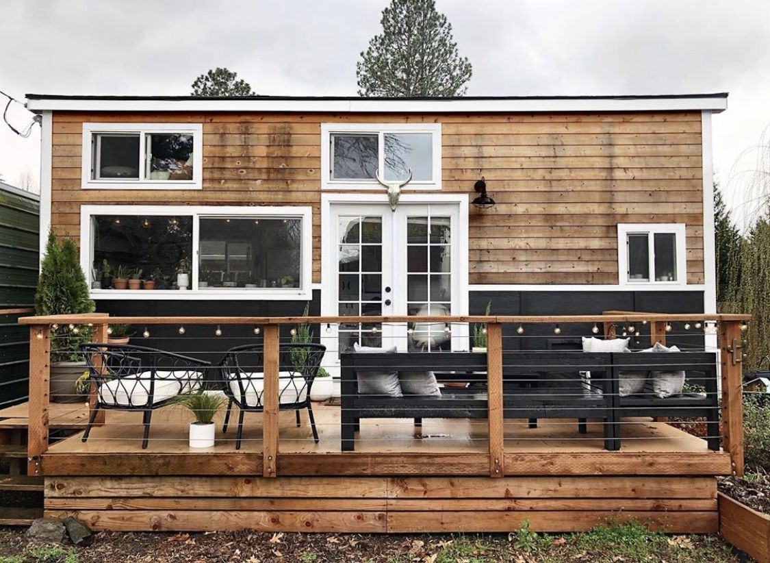 Downsizing from a three story 1 700 sq ft townhouse to a 324 sq ft Tiny House
