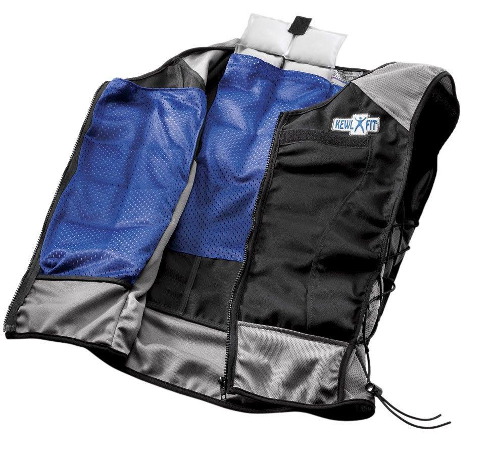 Kewlfit Mens Performance Enhancement Cooling Vest Workout