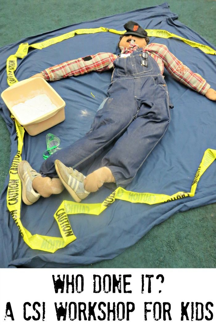 Forensic science: how to turn your classroom into a CSI lab ...