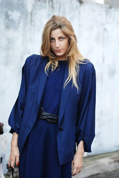thefscrapbook:    Ada Kokosar after the Lanvin show in Paris.