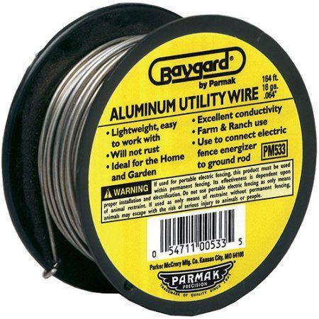 Baygard Parker Mccrory 00533 Baystock Single Strand Aluminum Wire, Multicolor