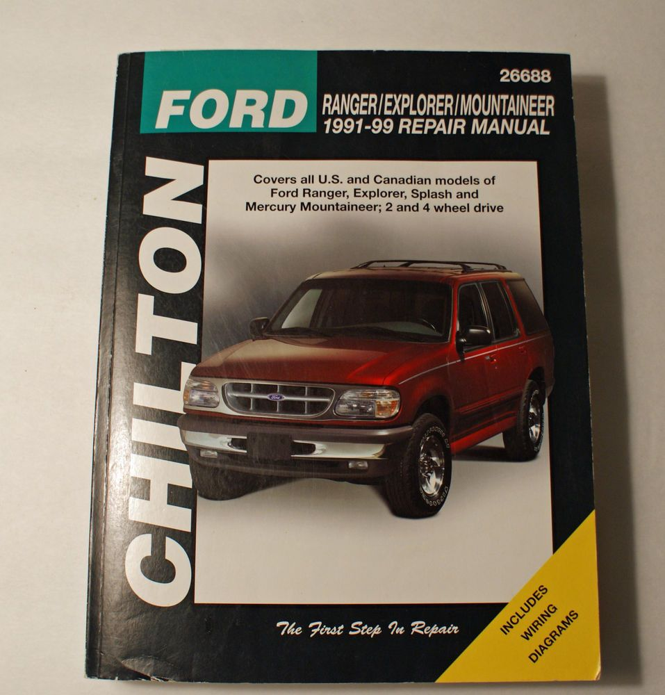 ford ranger explorer and mountainer 1991 99 chilton repair manual 26688 [ 957 x 1000 Pixel ]