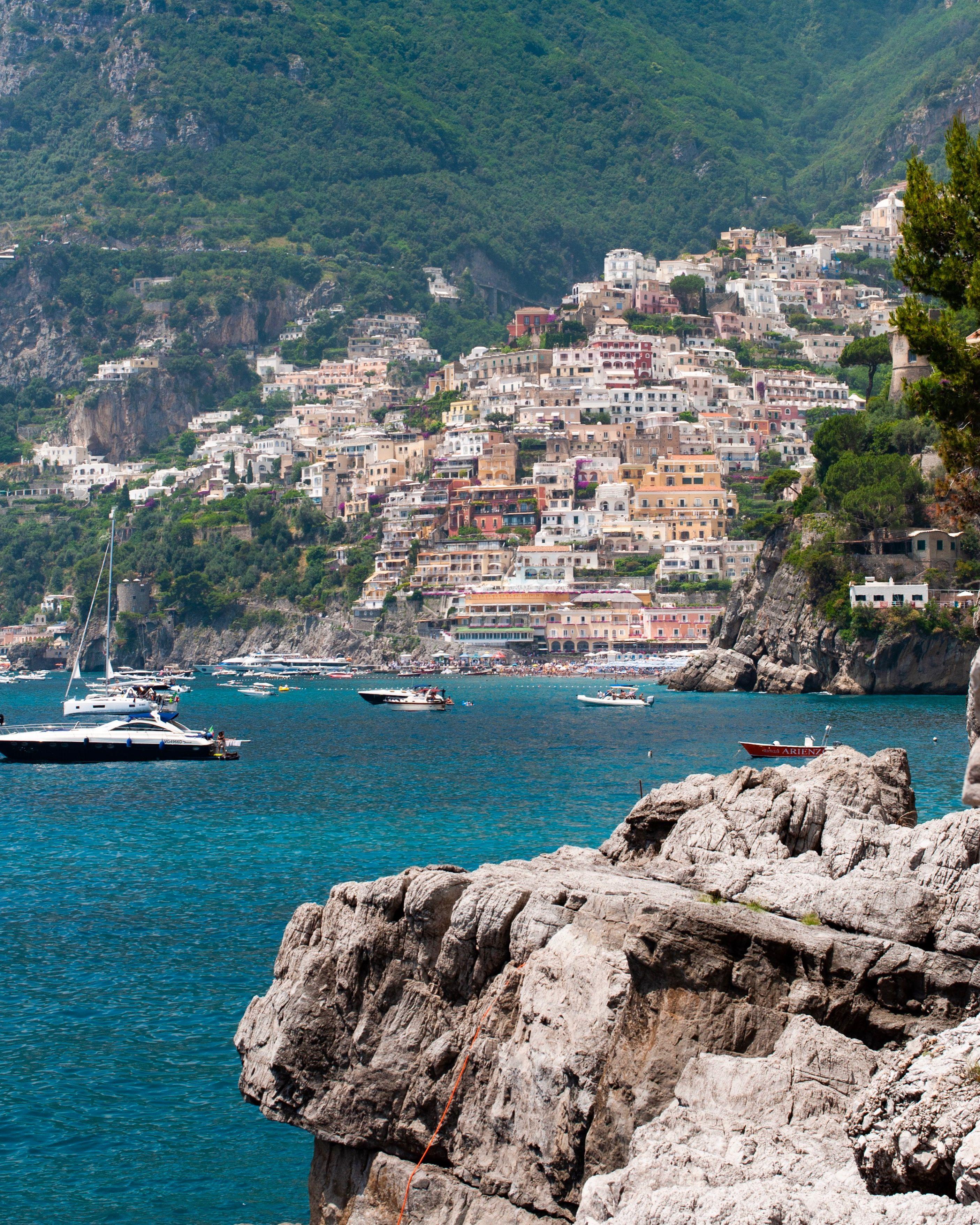 The Rocks Villa Treville Positano Amalfi Coast Outdoor