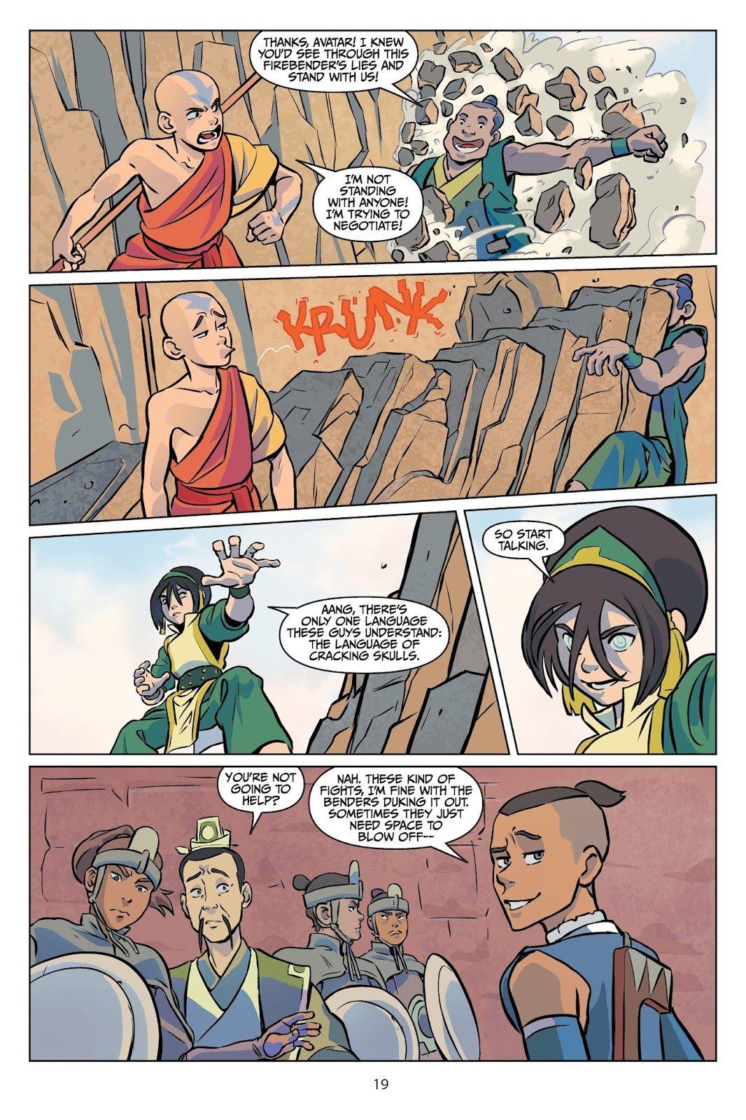 Nickelodeon Avatar: The Last Airbender - Imbalance TPB 1