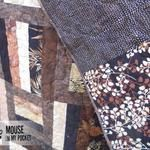 Triangle Quilt Along: Week 2 | Mouse in my Pocket @Andrea Turner | Mouse in My Pocket