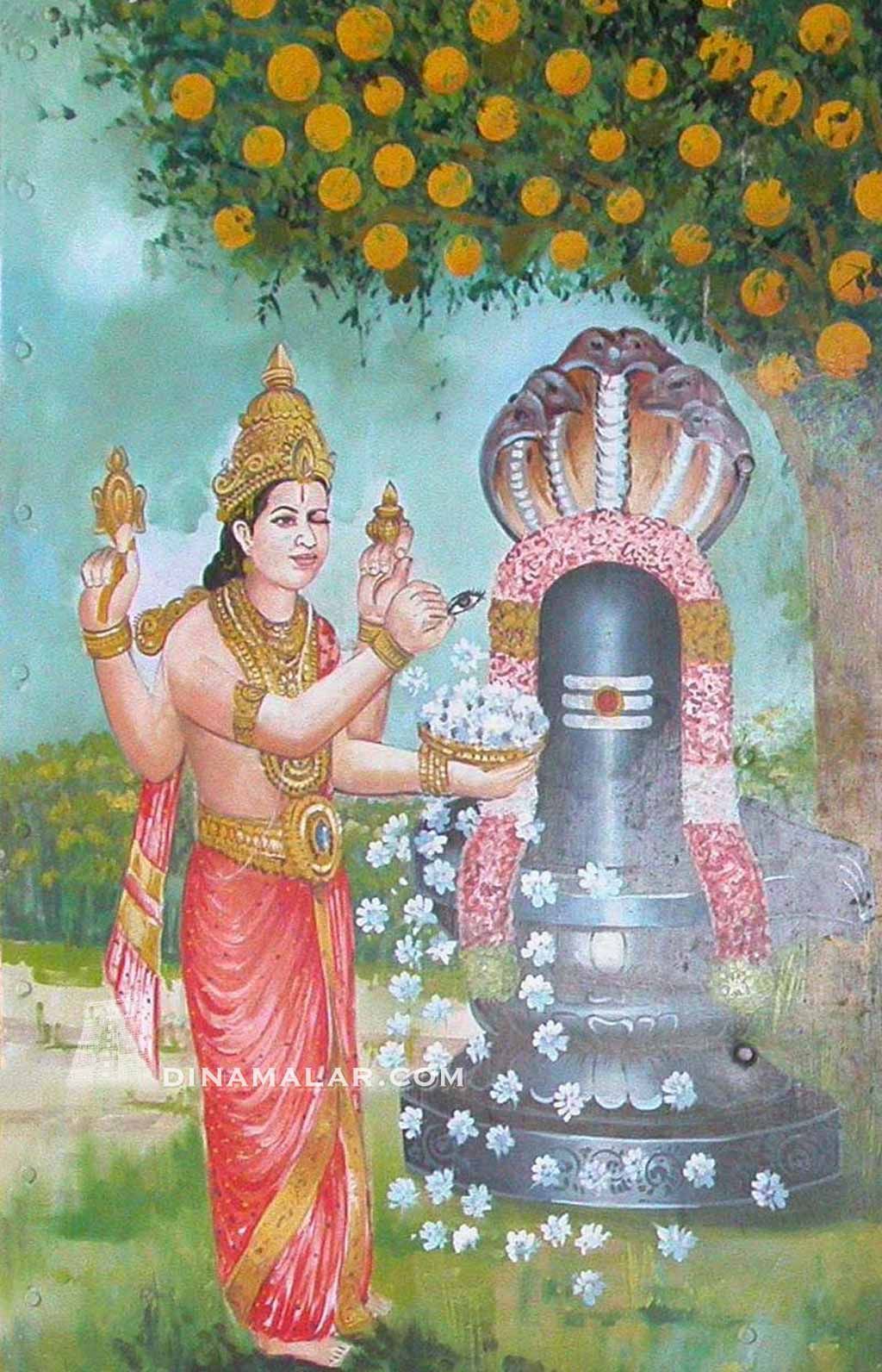 To make up the shortage of lotus flower lord vishnu immediately to make up the shortage of lotus flower lord vishnu immediately plucked his eye and offered it in the puja pleased with his determination lord dhlflorist Gallery