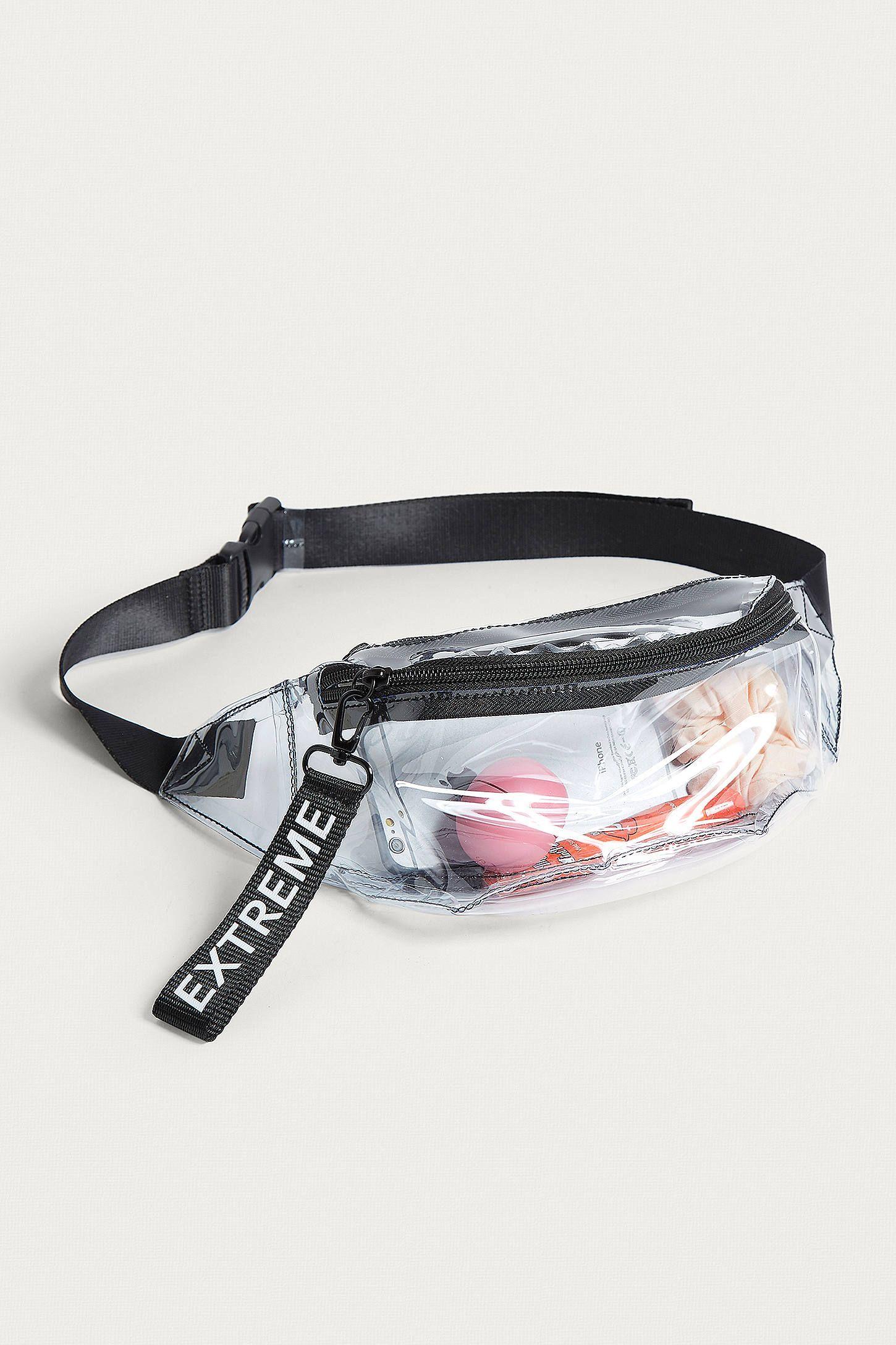 Summer Bag PVC Clear Waist Waterproof Jelly Belt Transparent Casual Fanny Pack