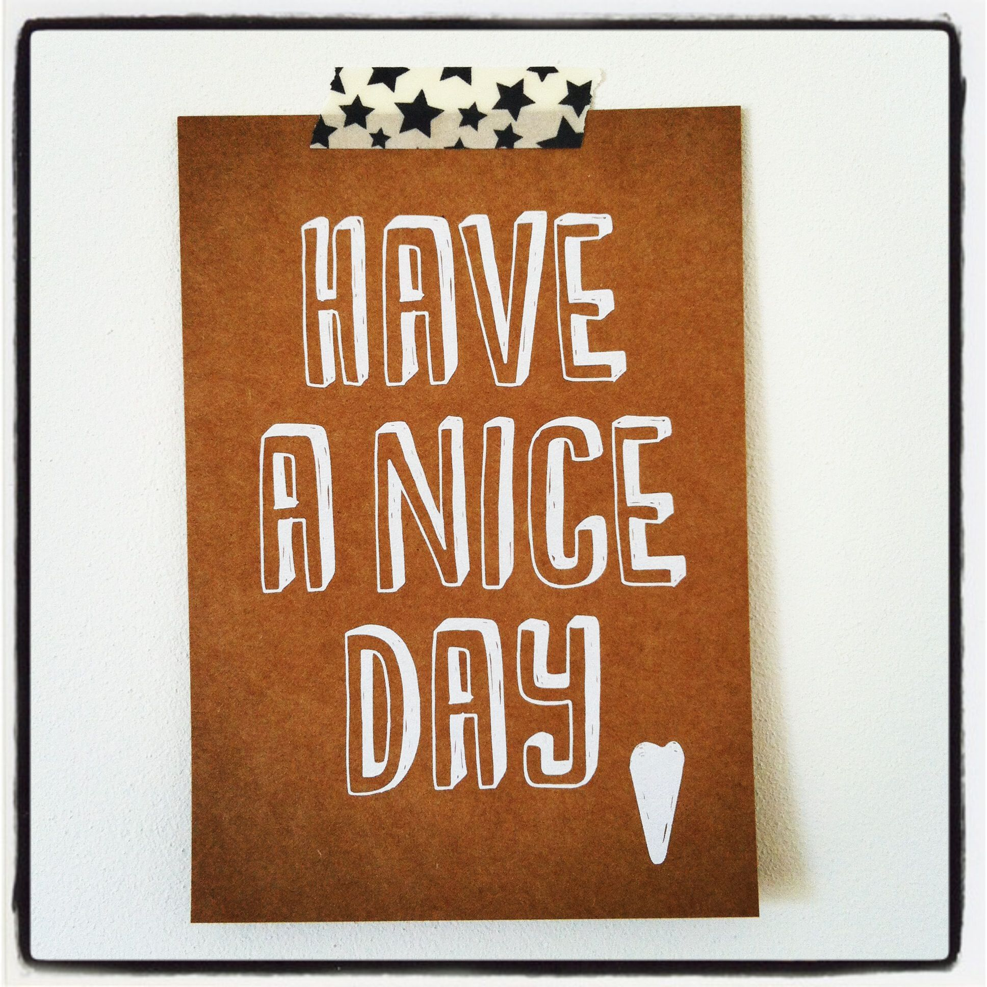 Ansichtkaart Have a nice day (1,95)