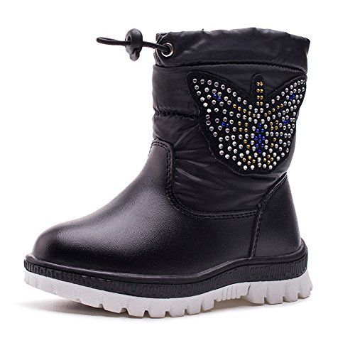 fyi kvbabay bottes de neige enfant apr s ski hiver chaudes imperm able bottines fourr es coton. Black Bedroom Furniture Sets. Home Design Ideas