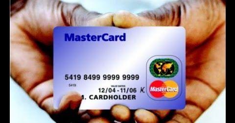 بعض الـ الكريدت كارد الشغاله .. Valid Visa Credit Card Number with ...